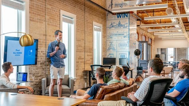 prezentování produktu pomocí pitch deck